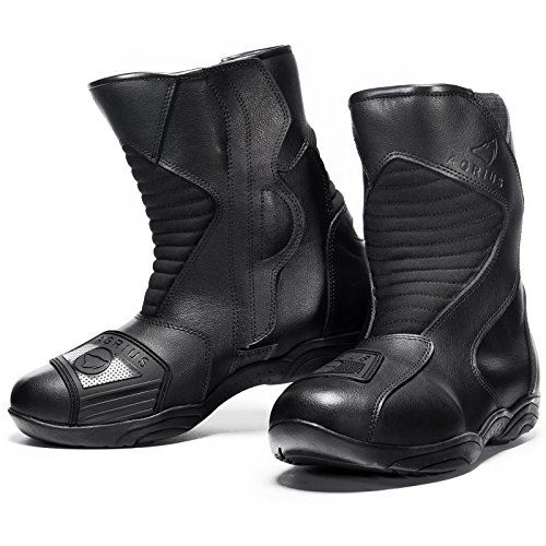 Agrius Delta Motorcycle Boots 43 Black (UK 9)