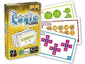 Brain Games- Logic Cards Juego de Cartas, Color Amarillo (BGP5120)
