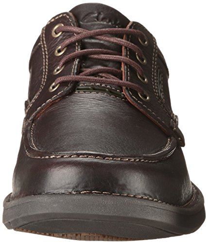 Clarks Untilary Pace Oxford Brown Leather
