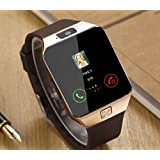 JIKRA Certified Bluetooth Smart Watch GT08 Wrist Watch COMPATIBLE With All SMARTPHONES With Camera & SIM Card Support Hot Fashion New Arrival Best Selling Premium Quality Lowest Price With Apps Like Facebook Whatsapp WeChat Twitter Time Schedule Read