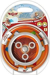 Dulcop 500.131500 - Aviones del Vuelo por Burbujas de jabón, con Frisbee
