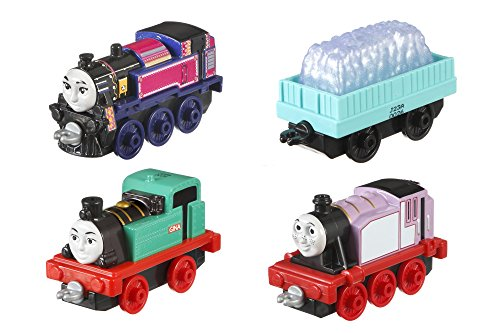Thomas & Friends DXT78 Diamond Run Multipack, Thomas the Tank Engine Diecast Metal Toy Engines, girl Engines, Toy Train, 3 Year Old