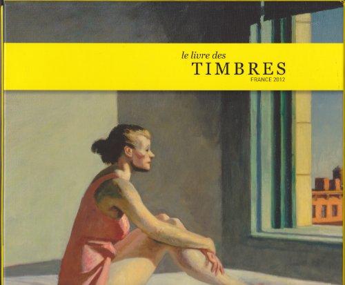 LE LIVRE DES TIMBRES FRANCE 2012