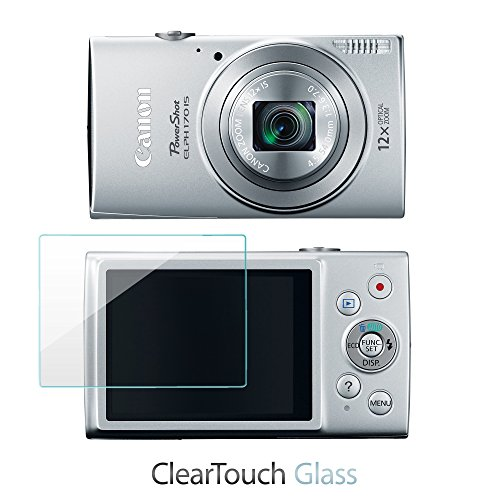 canon-powershot-elph-170-is-protector-de-pantalla-boxwaver-cleartouch-cristal-9h-templado-cristal-pr