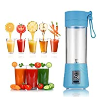 Rich N Royal Multifunction 380ML Mini USB Electric Fruit Juicer Smoothie Maker Blender Drink Bottle