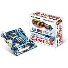 Gigabyte GA-G41MT-D3V Intel G41 Socket T (LGA 775) Micro ATX - Placa base (Dual, Intel, Celeron, Core 2 Duo, Core 2 Extreme, Core 2 Quad, Pentium, Socket T (LGA 775), Serial ATA II, Gigabit Ethernet)