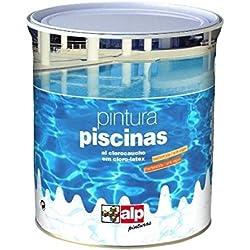 Pintura Piscinas al Clorocaucho Alp - 750 mL, Blanco