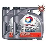Total Quartz Ineo MC35W30Motorenöl, 2x 5L = 10L