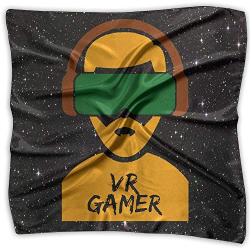 Video Games Gaming Funny Fashion Women's Printed Square Scarf Scarve Head Wrap Shawl -