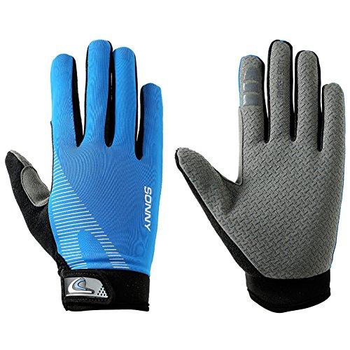 doigt plein gants d'équitation/ gants d'équitation en plein air/Glace soie élastiques gants respirants B