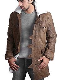 Feather Skin Bane Cappotto  Tom Hardy - Knight Rises Scure  Giacca In Pelle  Invecchiata 5a2403cca96