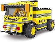 Ausini 4 Channels Rc Construction Truck, Multi-Colour, 20109, 202 Puzzel Pieces