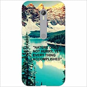 Moto G Turbo Back Cover - Nature Love Designer Cases
