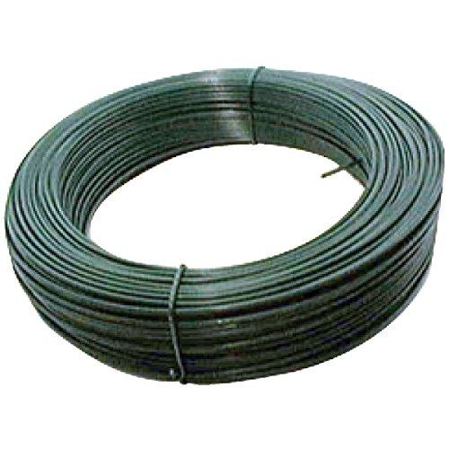 Brico-materiaux - Fil de tension galvanisé plastifie / Vert - 2.4 - 25