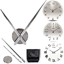 Alicemall Reloj de Pared de Cuarzo Decoración de Pared Mural Movimiento de Mecanismo de Reloj de