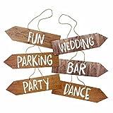Talking Tables Party-Schilder 6er-Set