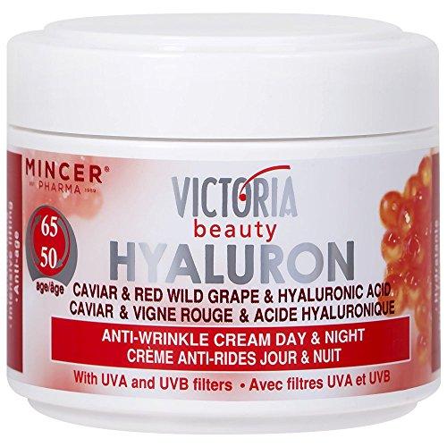 Victoria Beauty - Retinol Creme mit Hyaluronsäure - Anti-Aging Augencreme gegen Falten und dunkle...