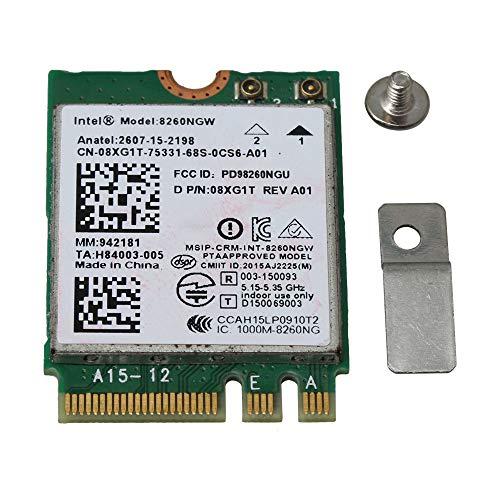 BQLZR - Tarjeta inalámbrica 8260AC Intel 8260NGW