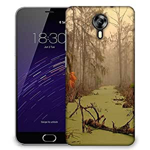 Snoogg Flood In Forest Designer Protective Phone Back Case Cover For Meizu M2
