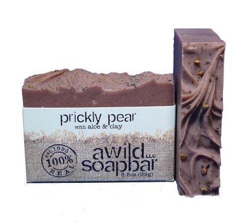 Prickly Pear Organic Bar Soap by A Wild Soap Bar (English Manual)