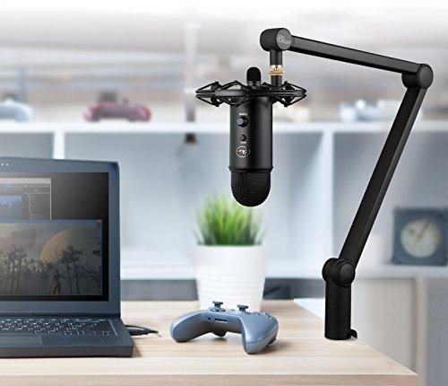 Blue Microphones Radius III 243 Custom Shock Mount for Yeti and Yeti Pro USB Microphones