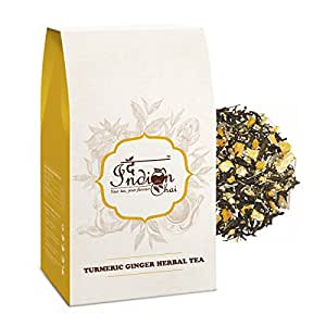 The Indian Chai Turmeric Ginger Herbal Tea (100G)