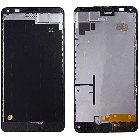 Piezas de repuesto de teléfonos móviles, iPartsBuy para Microsoft Lumia 640 LCD frontal de la carcasa de la placa del bisel del capítulo