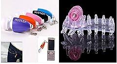 Idea Regalo - Offerta!! Mini vibratore portachiavi Stimolazione punto G pratico e invisibile! + guaina vibrante