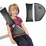 Copertura per cintura, spalline Infreecs per la sicurezza del bambino, clip per cintura di sicurezza con cuscino poggiatesta.