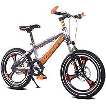 Fenfen Bicicleta para niños 16/18/20 pulgadas Bicicleta de montaña 5/8