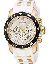 b7e67115e296 Invicta Men s 48mm Chronograph White Polyurethane flame fusion Date Watch  20292