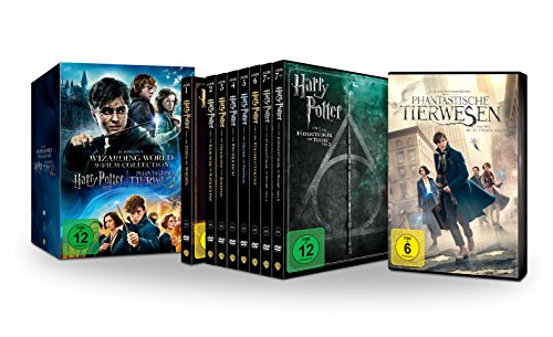 Wizarding World 9-Film Collection: Alle Harry Potter Filme und Phantastische Tierwesen im Schuber (Limited Edition exklusiv bei Amazon.de) [DVD] (Harry Potter Goblet Film)