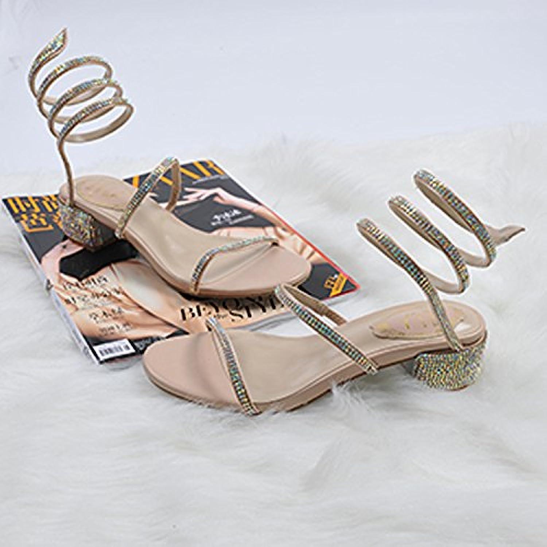 homme / femme de baskets  _chun bruts yalanshop fe audacieuses avec seul serpent sandales , chaussures fe yalanshop mmes exposés tête ronde...l'économie de marché et bn19629 haute qualité garantie authentique 29f4db