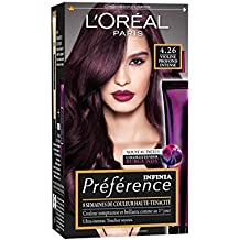 prfrence loral paris coloration permanente 426 pure burgundy violine intense - Coloration Violet Cheveux