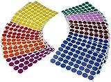 Royal grün Kinder farbigen Craft Aufkleber-Colorful 3/10,2cm Durchmesser...
