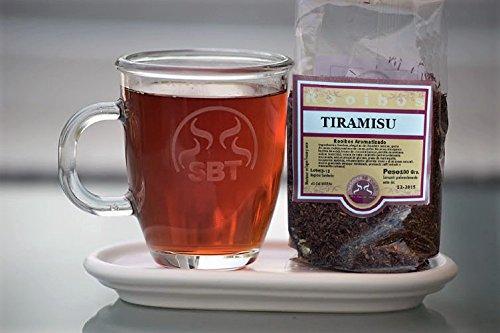 SABOREATE Y CAFE THE FLAVOUR SHOP Saboreateycafe Té Rooibos Tiramisú en Hebra Hoja Granel 100 Gramos Infusiones Naturales, Bebida Isotónica