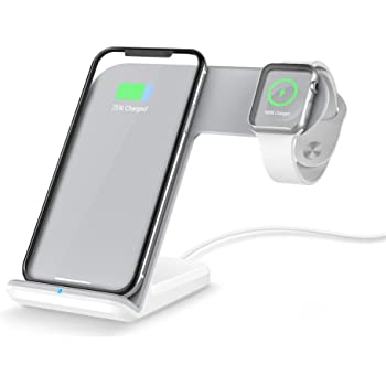 332PageAnn Cargador Inalámbrico Rápido Wireless Quick Charger para iPhone X, iPhone 8, iPhone 8
