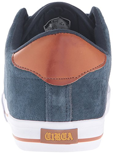 C1RCA Lopez 50, Baskets Basses Mixte Adulte Bleu - Blau (Navy Brown Gum)