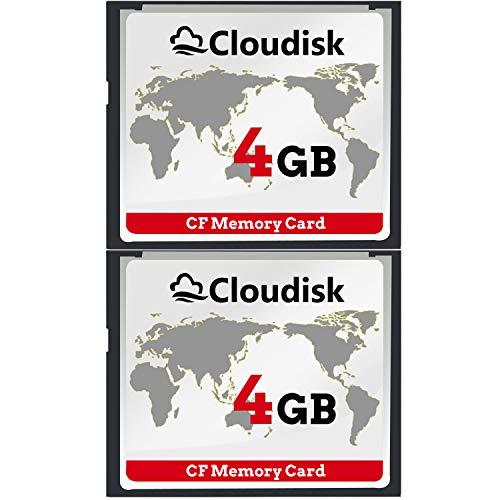 2pcs 4 GB Rendimiento De La Tarjeta De Memoria Compact
