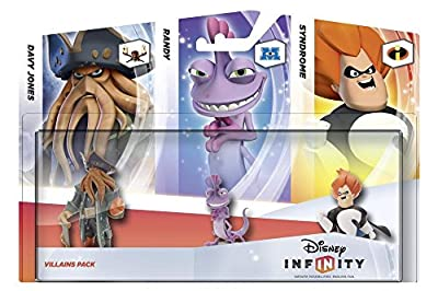 Disney Infinity Villains 3 Pack (PS3/Xbox 360/Nintendo Wii/Wii U/3DS) from Disney Interactive