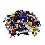 Bausteine gebraucht 400 Teile Lego System Steine Kiloware bunt gemischt 0,60 kg z.B. Räder Platten Fenster etc. k1