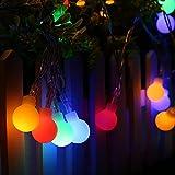InnooTech 4M 40er LED Lichterkette Batteriebetrieben Globe Glühbirne Innen Außen Beleuchtung Deko für Garten, Wohnungen, Tanzen, Hochzeit, Weihnachtsfeier usw.