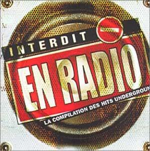 Interdit en radio : La compilation des Hits underground (+ 1 DVD) [Import allemand]