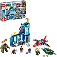 LEGO Marvel Super Heroes Avengers Wrath of Loki 76152 building set with 5 minifigures, Toy for Boys and Girls