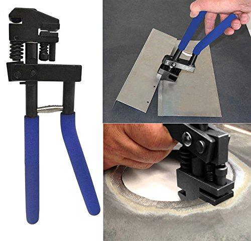 Tabelle Panel (safekom Panel Joggler Kombiniertes Stanz und 5mm Locher Werkzeug für Tabelle Metall Repair Biegen)