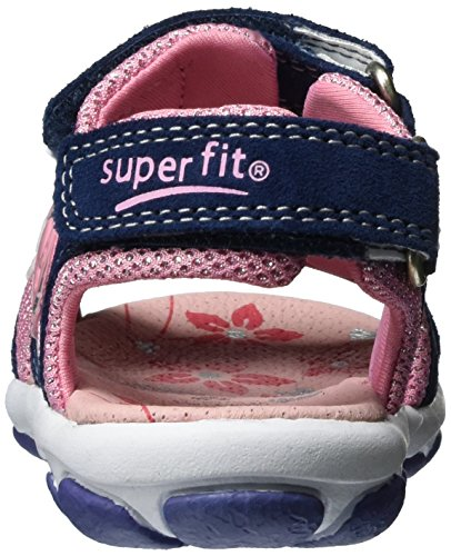 Superfit Nelly 1, Sandales  Bout ouvert fille Blau (water Kombi)