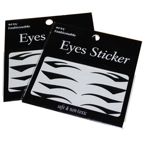 Komfortable schwarzen Eyeliner Eyeliner Tattoo-Aufkleber Augenlid Aufkleber