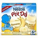 Nestlé p'tit dej banane 2x250ml dès 6 mois - ( Prix Unitaire ) - Envoi Rapide Et Soignée