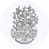 Azeeda 24 x 40mm Runden 'Rebhuhn in einem Birnenbaum' Aufklebern / Stickers (SK00004433)