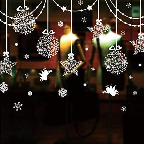 Mural Selbstklebende Hintergrund-Wand, Fenster-Glasaufkleber-Tapeten-Boutiquen-Kunst-Fenster-Dekoration-Wand-Dekoration-Decken-Ball-Wohnzimmer-Fenster-Blumen-Wand-Abziehbilder, dekorative wasserdicht (Decke-wand-abziehbilder)